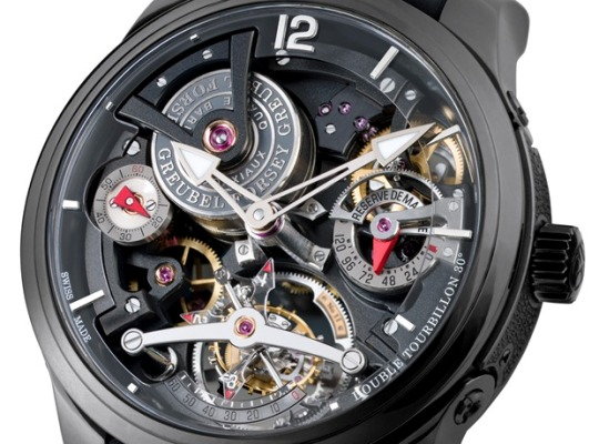 Greubel Forsey Double Tourbillon Technique Black
